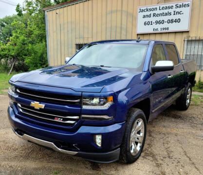 2018 Chevrolet Silverado 1500 for sale at JACKSON LEASE SALES & RENTALS in Jackson MS