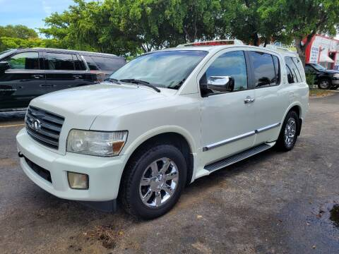 2007 Infiniti QX56 for sale at All Around Automotive Inc in Hollywood FL