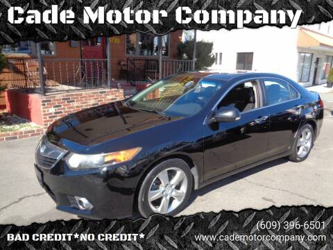 2011 Acura TSX for sale at Cade Motor Company in Lawrenceville NJ