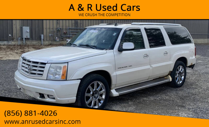 2006 Cadillac Escalade ESV for sale at A & R Used Cars in Clayton NJ