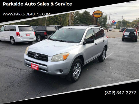 2006 Toyota RAV4 for sale at Parkside Auto Sales & Service in Pekin IL