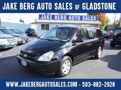 2010 Kia Sedona for sale at Jake Berg Auto Sales in Gladstone OR
