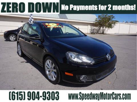 2012 Volkswagen Golf for sale at Speedway Motors in Murfreesboro TN