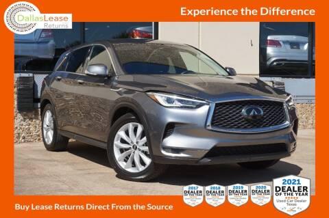 2019 Infiniti QX50 for sale at Dallas Auto Finance in Dallas TX