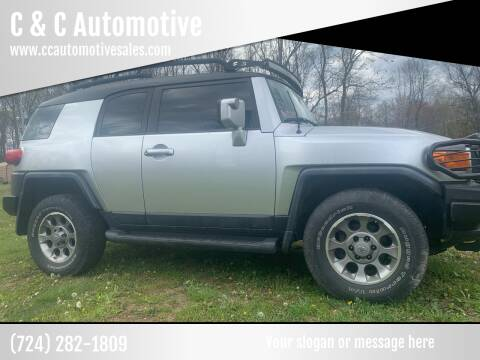 2008 Toyota FJ Cruiser for sale at C & C Automotive in Chicora PA