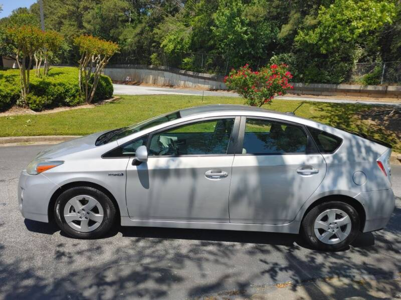 2011 Toyota Prius for sale at C & J International Motors in Duluth GA