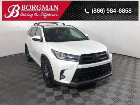 2017 Toyota Highlander for sale at BORGMAN OF HOLLAND LLC in Holland MI
