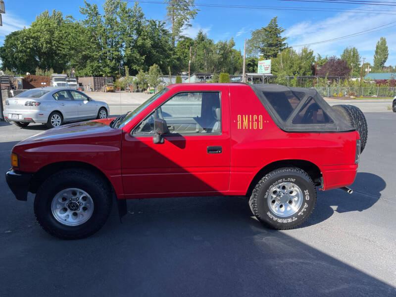 1993 Isuzu Amigo for sale at Westside Motors in Mount Vernon WA