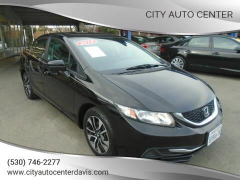2014 Honda Civic for sale at City Auto Center in Davis CA