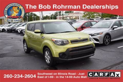 2019 Kia Soul for sale at BOB ROHRMAN FORT WAYNE TOYOTA in Fort Wayne IN