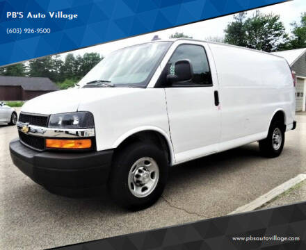 2019 Chevrolet Express Cargo for sale at PB'S Auto Village in Hampton Falls NH