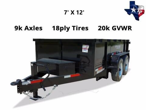 2021 TEXAS PRIDE 7' X 12' Bumper Pull 20K for sale at Montgomery Trailer Sales - Texas Pride in Conroe TX