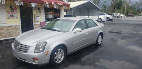 2004 Cadillac CTS for sale at ANYTHING ON WHEELS INC in Deland FL