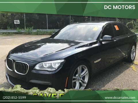 2014 BMW 7 Series for sale at DC Motors in Springfield VA