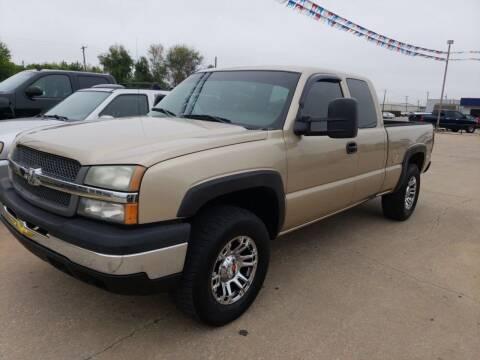 2004 Chevrolet Silverado 1500 for sale at Pioneer Auto in Ponca City OK
