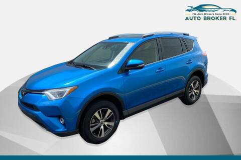 2017 Toyota RAV4 for sale at INTERNATIONAL AUTO BROKERS INC in Hollywood FL