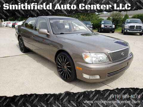 2000 Lexus LS 400 for sale at Smithfield Auto Center LLC in Smithfield NC