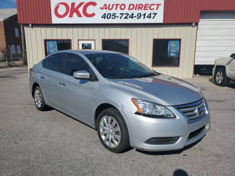 2014 Nissan Sentra for sale at OKC Auto Direct in Oklahoma City OK