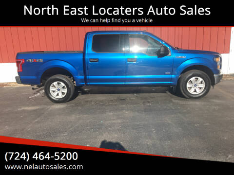 2017 Ford F-150 for sale at North East Locaters Auto Sales in Indiana PA