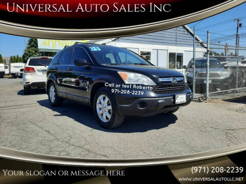 2008 Honda CR-V for sale at Universal Auto Sales Inc in Salem OR
