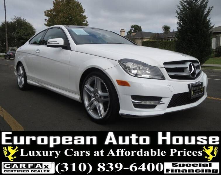 2013 Mercedes-Benz C-Class for sale at European Auto House in Los Angeles CA