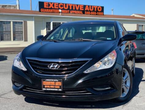 2011 Hyundai Sonata for sale at Executive Auto in Winchester VA
