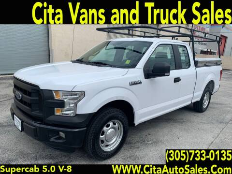 2015 Ford F-150 for sale at Cita Auto Sales in Medley FL