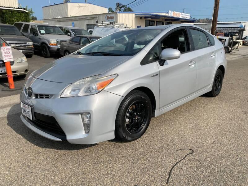 2012 Toyota Prius for sale at Ricos Auto Sales in Escondido CA
