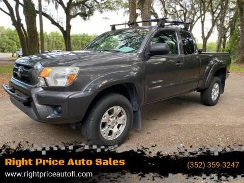 2012 Toyota Tacoma for sale at Right Price Auto Sales in Waldo FL