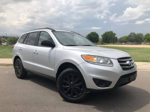 2012 Hyundai Santa Fe for sale at Nations Auto in Lakewood CO