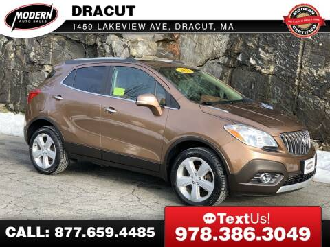 2016 Buick Encore for sale at Modern Auto Sales in Tyngsboro MA