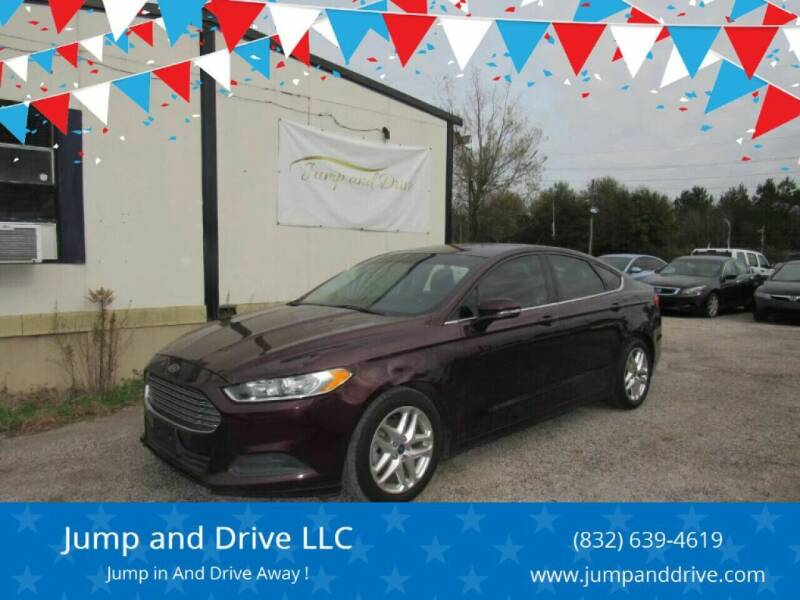 2013 Ford Fusion for sale at Jump and Drive LLC in Humble TX