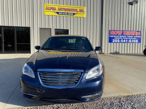 2013 Chrysler 200 for sale at Alpha Automotive in Odenville AL