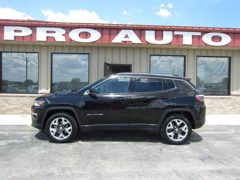 2018 Jeep Compass for sale at Pro Auto Sales in Carroll IA