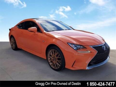 2015 Lexus RC 350 for sale at Gregg Orr Pre-Owned of Destin in Destin FL
