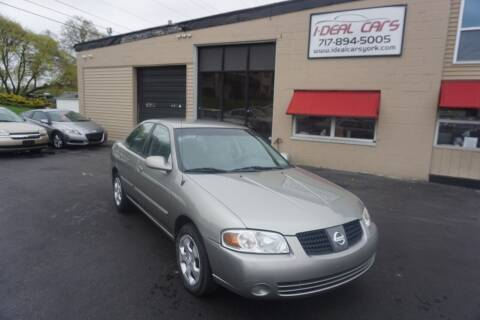 2004 Nissan Sentra for sale at I-Deal Cars LLC in York PA