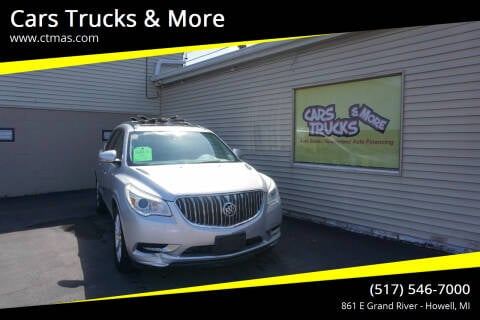 2015 Buick Enclave for sale at Cars Trucks & More in Howell MI