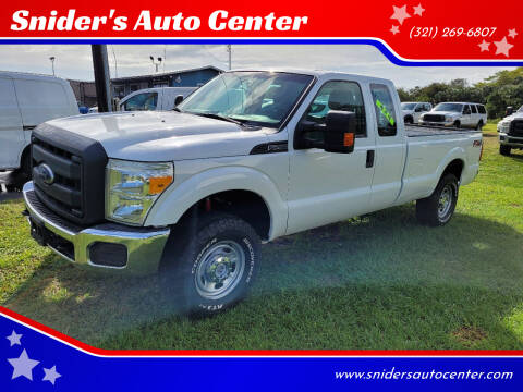 2014 Ford F-250 Super Duty for sale at Snider's Auto Center in Titusville FL