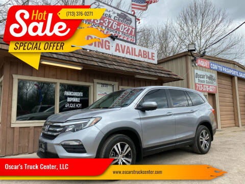 2016 Honda Pilot for sale at Oscar's Truck Center, LLC in Houston TX