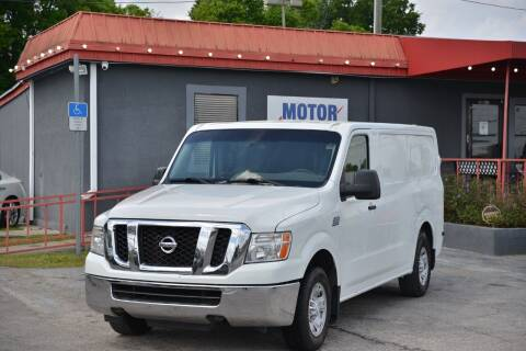2013 Nissan NV Cargo for sale at Motor Car Concepts II - Kirkman Location in Orlando FL