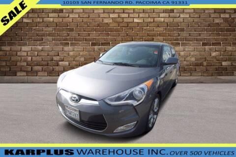 2017 Hyundai Veloster for sale at Karplus Warehouse in Pacoima CA