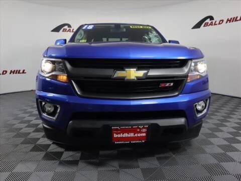 2018 Chevrolet Colorado for sale at Bald Hill Kia in Warwick RI