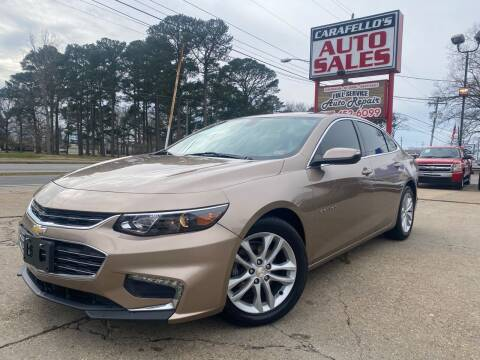 2018 Chevrolet Malibu for sale at Carafello's Auto Sales in Norfolk VA
