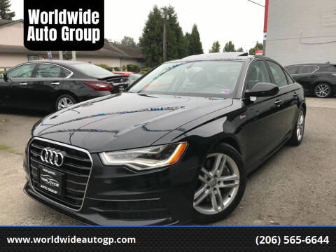 2012 Audi A6 for sale at Worldwide Auto Group in Auburn WA