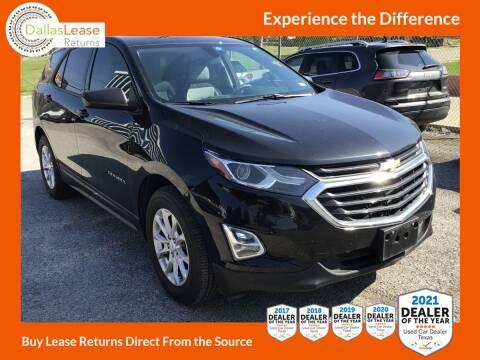 2019 Chevrolet Equinox for sale at Dallas Auto Finance in Dallas TX