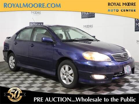 2008 Toyota Corolla for sale at Royal Moore Custom Finance in Hillsboro OR