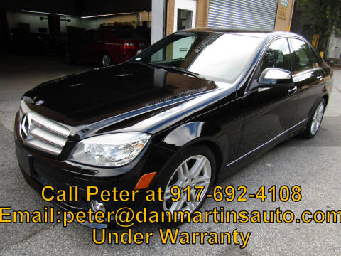 2008 Mercedes-Benz C-Class for sale at Dan Martin's Auto Depot LTD in Yonkers NY