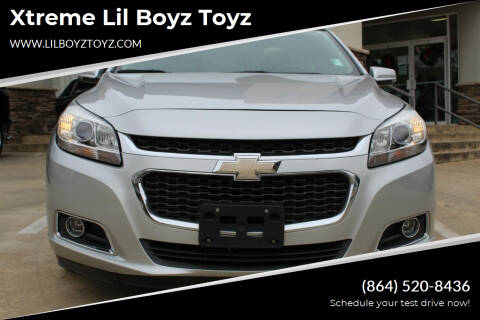 2016 Chevrolet Malibu Limited for sale at Xtreme Lil Boyz Toyz in Greenville SC
