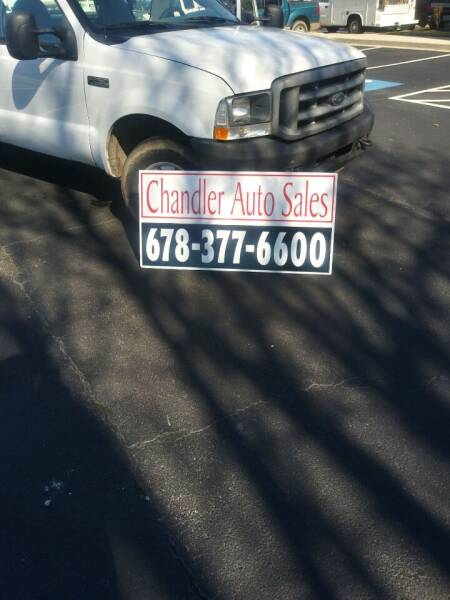 2004 Ford F-250 Super Duty for sale at Chandler Auto Sales - ABC Rent A Car in Lawrenceville GA