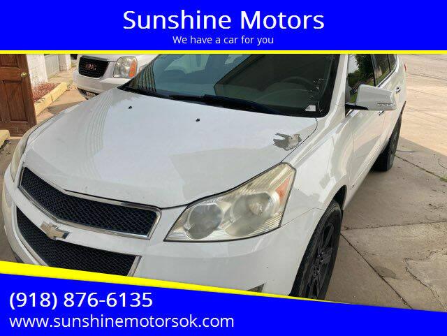 2010 Chevrolet Traverse for sale at Sunshine Motors in Bartlesville OK